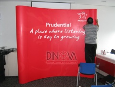 Backdrop Portable Curved 3x3
