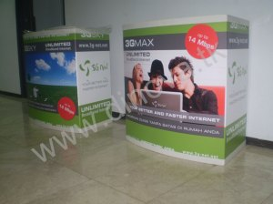 Meja Portable event desk