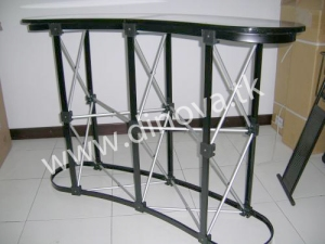 Kerangka meja Pop Up Table/ Pop up Counter